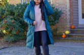 10 Winter Essentials For a Cozy Look featured by top Maryland modest fashion blogger, Dreaming Loud: image of a woman wearing Abercrombie oversized chenille sweater, Spanx faux leather legging, Sorel Joan Artic Next boots