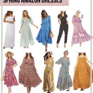 Cute Spring Dresses From Amazon