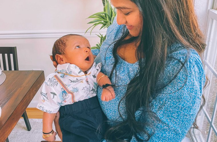 1 month with our baby boy Vihaan