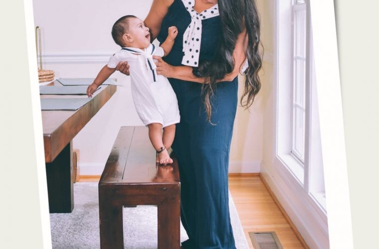 6 Month Postpartum Journey Update featured by top Maryland mommy blogger, Dreaming Loud