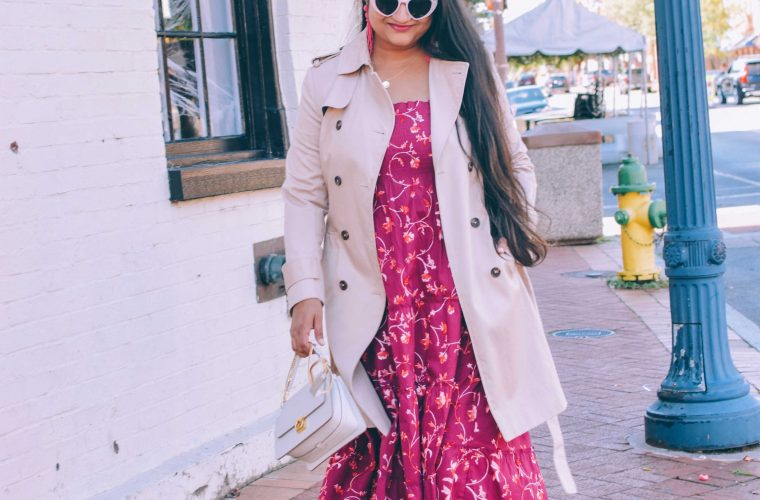 Hill House Nap Dress styled for Fall by top US modest fashion blogger, Dreaming Loud