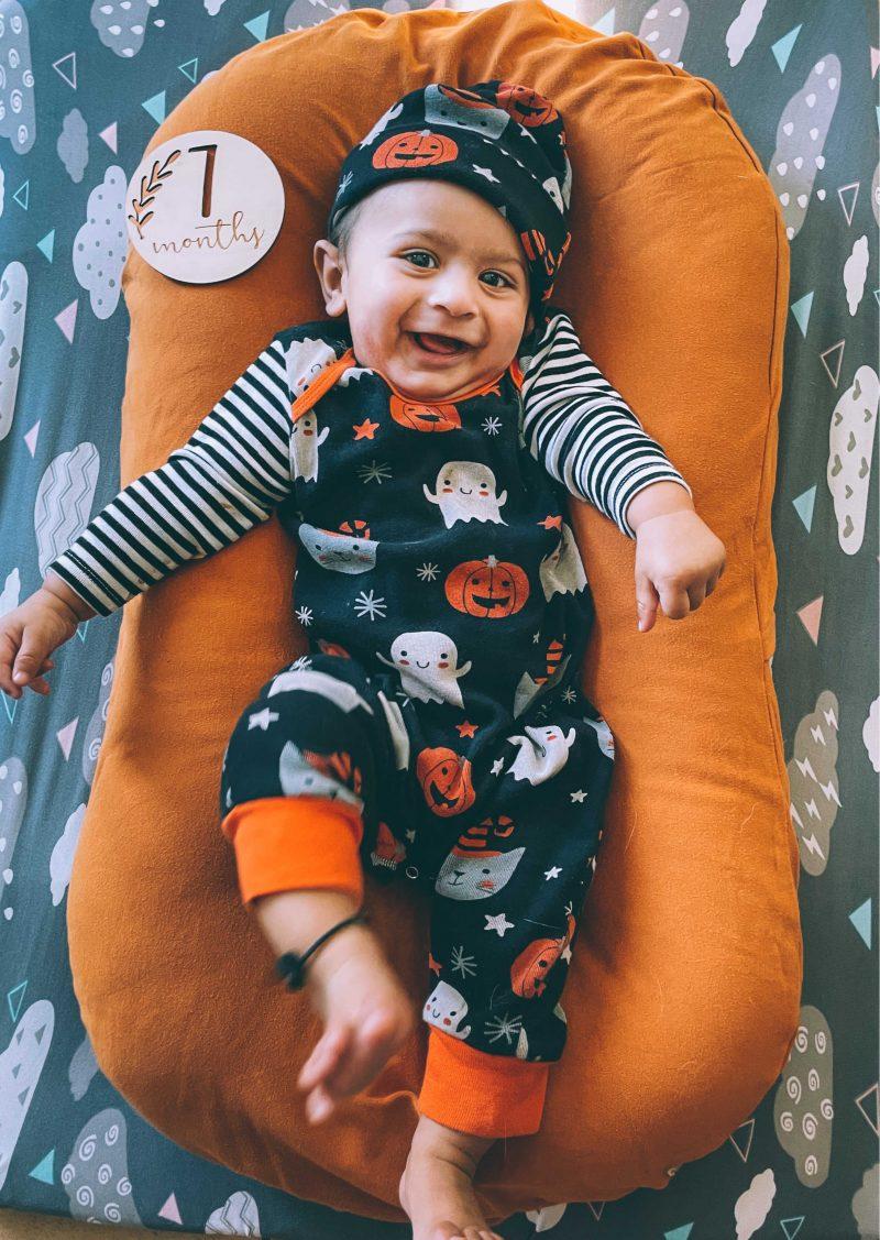 baby V 7 months birthday Update4